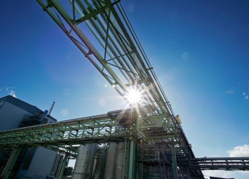 Bildausschnitt eines Industrieparks
